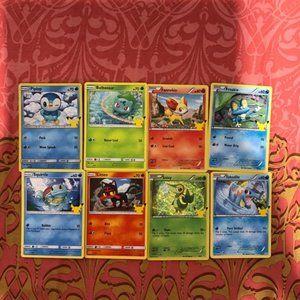 Pokémon Card Lot of 8 McDonald's Promotion